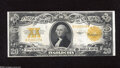 Large Size:Gold Certificates, Fr. 1187 $20 1922 Gold Certificate Very Fine. This crispy $20 Gold has sound edges and a rich orange bank....