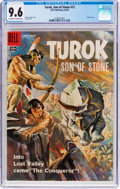 Silver Age (1956-1969):Adventure, Turok, Son of Stone #12 (Dell, 1958) CGC NM+ 9.6 Off-white to white pages....