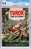 Silver Age (1956-1969):Adventure, Turok, Son of Stone #39 (Gold Key, 1964) CGC NM 9.4 Off-white pages....