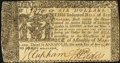 Colonial Notes, Maryland April 10, 1774 $6 Very Fine-Extremely Fine.. ...