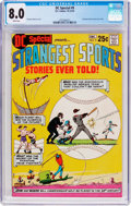 Bronze Age (1970-1979):Miscellaneous, DC Special #9 Strangest Sports Stories Ever Told (DC, 1970) CGC VF8.0 White pages....