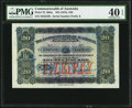 World Currency, Australia Commonwealth of Australia £20 ND (1918) Pick 7b R65a.. ...
