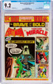 The Brave and the Bold #112 Batman and Mister Miracle (DC, 1974) CGC NM- 9.2 Off-white to white pages