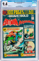The Brave and the Bold #114 Batman and Aquaman (DC, 1974) CGC NM 9.4 Off-white to white pages