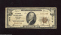 National Bank Notes:Kansas, Topeka, KS - $10 1929 Ty. 1 The Central NB Ch. # 3078 The signatures of J.D. Mossman and J.R. Burrow, Jr. are found on ...