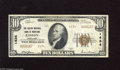 National Bank Notes:Maryland, Easton, MD - $10 1929 Ty. 2 The Easton NB of Maryland Ch. # 1434This note has creamy white surfaces with the usual arr...