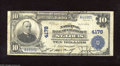 National Bank Notes:Missouri, Saint Louis, MO - $10 1902 Plain Back Fr. 627 The NB of CommerceCh. # 4178 Printed signatures are found on this note f...