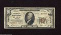 National Bank Notes:Missouri, Saint Louis, MO - $10 1929 Ty. 2 The Boatmen's NB Ch. # 12916 Thisnote with a great title has some margin nicks and pi...