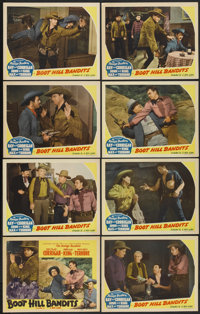 "Boot Hill Bandits (Monogram, 1942). Lobby Card Set of 8 (11"" X 14""). Western.... (Total: 8 Items)"