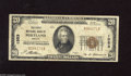 National Bank Notes:Oregon, Portland, OR - $20 1929 Ty. 1 The First NB Ch. # 1553 This somewhat snappy note has good colors and no imperfections. ...