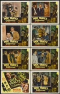 "Movie Posters:Crime, Dick Tracy's Dilemma (RKO, 1947). Lobby Card Set of 8 (11"" X 14"").Crime.... (Total: 8 Items)"