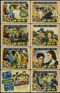 """Movie Posters:Crime, Little Tough Guy (Universal, 1938). Lobby Card Set of 8 (11"""" X 14""""). Crime.... (Total: 8 Items)"""