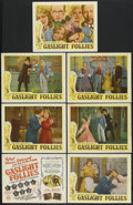 """Movie Posters:Comedy, Gaslight Follies (Embassy, 1945). Title Lobby Card and Lobby Cards(6) (11"""" X 14""""). Comedy.... (Total: 7 Items)"""