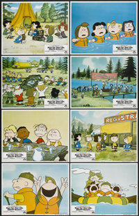 """Race for Your Life, Charlie Brown (Paramount, 1977). Lobby Card Set of 8 (11"""" X 14""""). Animated.... (Total: 8 I..."""
