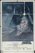 "Movie Posters:Science Fiction, Star Wars (20th Century Fox, 1977). One Sheet (27"" X 41"") Style A. Science Fiction...."
