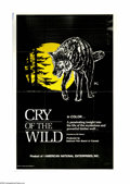 """Movie Posters:Documentary, Cry of the Wild (American National Enterprises, 1973). One Sheet (27"""" X 41""""). For almost thirty years, Bill Mason directed d..."""