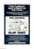 """Movie Posters:Action, Slap Shot (Universal, 1977). One Sheet (27"""" X 41""""). George Roy Hill directs this action/comedy that stars Paul Newman as the..."""
