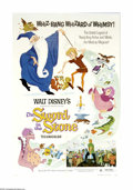 "Movie Posters:Action, The Sword in the Stone (Buena Vista, R-1973). One Sheet (27"" X41""). ""A legend is sung, of when England was young, and knigh..."