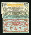 Obsoletes By State:Oregon, Pendleton, OR- $10 Happy Canyon Bucks Six Examples. ... (Total: 6notes)