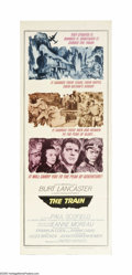 """Movie Posters:War, The Train (United Artists, 1964). Insert (14"""" X 36""""). BurtLancaster plays Labiche, a railway inspector who leads a cell of..."""