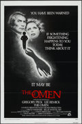 "Movie Posters:Horror, The Omen (20th Century Fox, 1976). One Sheet (27"" X 41"") Tri-Folded Style F. Horror...."