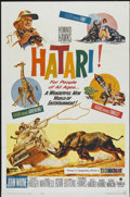 "Movie Posters:Adventure, Hatari! (Paramount, 1962). One Sheet (27"" X 41""). Adventure...."
