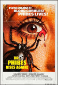 "Movie Posters:Horror, Dr. Phibes Rises Again (American International, 1972). One Sheet(27"" X 41""). Horror.. ..."