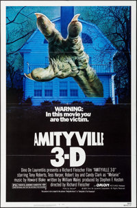 """Amityville 3-D & Other Lot (Orion, 1983). One Sheets (2) (27"""" X 41""""). Horror. ... (Total: 2 Items)"""