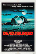 "Movie Posters:Horror, Dead & Buried & Other Lot (Avco Embassy, 1981). One Sheets(2) (27"" X 41"") Lampanile Artwork. Horror.. ... (Total: ..."