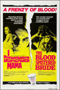 "Movie Posters:Horror, I Dismember Mama/The Blood Spattered Bride Combo & Other Lot(Europix International, 1973). One Sheets (2) (27"" X 41""). Horr...(Total: 2 Items)"