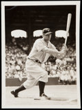 Baseball Collectibles:Photos, c. 1930s Lou Gehrig Type I Photograph.. ...
