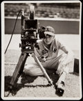 Baseball Collectibles:Photos, 1942 Ted Williams Type I George Burke Photograph. . ...