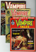 Bronze Age (1970-1979):Horror, Vampire Tales #1-3 Group (Marvel, 1973-74) Condition: AverageVF+.... (Total: 3 Comic Books)