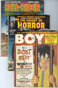 Magazines:Miscellaneous, Miscellaneous Horror Magazines Group (Various Publishers, 1960s)Condition: Average VG.... (Total: 7 Comic Books)