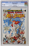 Bronze Age (1970-1979):Adventure, Marvel Feature #4 Red Sonja (Marvel, 1976) CGC NM+ 9.6 Off-white to white pages....