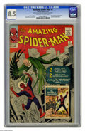 Silver Age (1956-1969):Superhero, The Amazing Spider-Man #2 (Marvel, 1963) CGC VF+ 8.5 Off-white towhite pages. The Vulture soared into his first of many app...