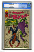 Silver Age (1956-1969):Superhero, The Amazing Spider-Man #6 (Marvel, 1963) CGC NM- 9.2 Cream to off-white pages. Peter Parker's off to see the Lizard on a roa...
