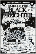 "Original Comic Art:Covers, Dave Gibbons Watchmen Movie ""Tales of the Black Freighter"" Prop Comic Cover Original Art (DC/Warner Br..."