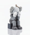 Fine Art - Sculpture, American:Contemporary (1950 to present), KAWS (American, b. 1974). Companion, Passing Through (Grey),keychain, 2013. Painted cast vinyl. 2 x 1-1/2 x 1-1/2 inche...