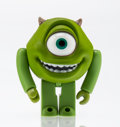 Fine Art - Painting, Russian, Disney. Mike Wazowski, from Monster's Inc. . Paintedcast vinyl. 2 x 1-1/2 x 1 inches (5.1 x 3.8 x 2.5 cm). Stamped ...