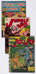 Golden Age (1938-1955):Adventure, Comic Books - Assorted Golden Age Jungle Comics Group of 11 (Various Publishers, 1947-50) Condition: Average GD.... (Total: 11 Comic Books)