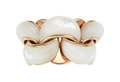 Estate Jewelry:Rings, Mother-of-Pearl, Rose Gold Ring, Chimento  The...