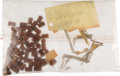 Explorers:Space Exploration, Apollo 14 Flown Ablative Plugs (Fifty-six) and Kapton Pieces (Seven) from the Estate of NASA Engineer Donald T. Hamilton.... (Total: 2 Items)