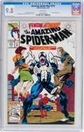 Modern Age (1980-Present):Superhero, The Amazing Spider-Man #374 (Marvel, 1993) CGC NM/MT 9.8 White pages....