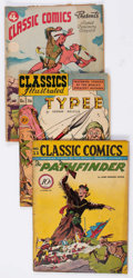 Golden Age (1938-1955):Classics Illustrated, Classic Comics Group of 7 (Gilberton, 1943-54).... (Total: 7 ComicBooks)