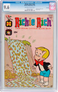 Bronze Age (1970-1979):Cartoon Character, Richie Rich #104 File Copy (Harvey, 1971) CGC NM+ 9.6 Off-white towhite pages....