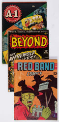 Golden Age (1938-1955):Miscellaneous, Comic Books - Assorted Golden Age Comics Group of 56 (Various Publishers, 1941-51) Condition: Average GD.... (Total: 56 Comic Books)