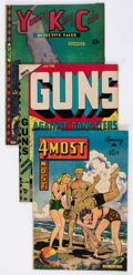 Golden Age (1938-1955):Miscellaneous, Novelty Press Comics Group of 19 (Novelty Press, 1942-49).... (Total: 19 Comic Books)