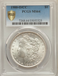 1900-O/CC $1 MS64 PCGS Secure. PCGS Population: (2124/995 and 95/56+). NGC Census: (787/194 and 29/5+). CDN: $850 Whsle...