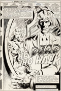 Original Comic Art:Splash Pages, Ron Frenz and Armando Gil Ka-Zar #25 Splash Page 1 OriginalArt (Marvel, 1983)....